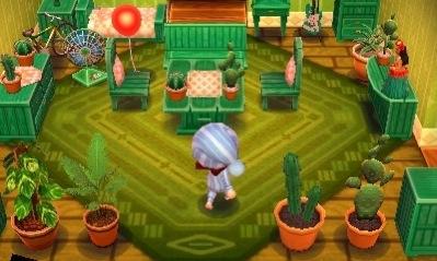 Animal Crossing Wild World Room Designs