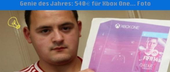 Das Genie des Jahres: 540€ für Xbox One… Foto