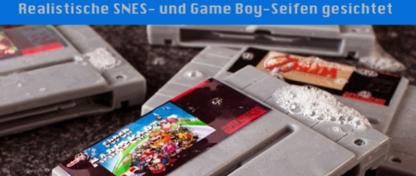 Realistische SNES- und Game Boy-Seifen gesichtet