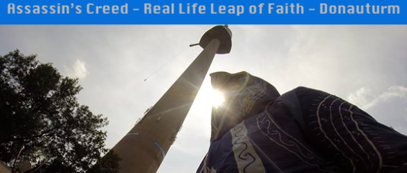 Assassin's Creed – Real Life Leap of Faith – Donauturm