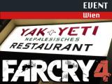 Yak grüßt Yeti – Far Cry 4-Launchparty in Wien