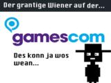Der grantige Wiener bei der GamesCom